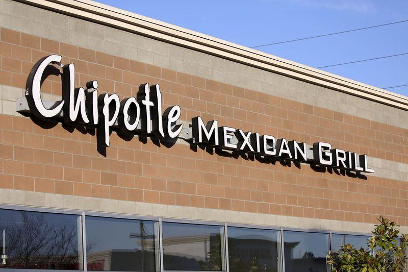 File photo of a Chipotle restaurant in Federal Way Washington