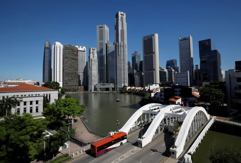 Singapore financial district vulnerable to rising sea levels - CBRE