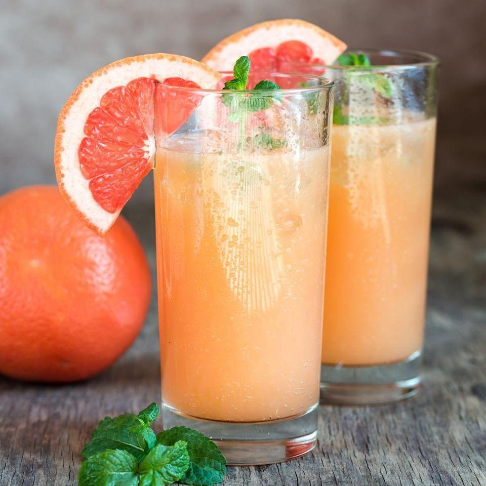 """<p><a href=""""https://www.delish.com/uk/cocktails-drinks/a30928261/tequila-sunrise/"""" rel=""""nofollow noopener"""" target=""""_blank"""" data-ylk=""""slk:Tequila"""" class=""""link rapid-noclick-resp"""">Tequila</a> fans will LOVE this grape-fruit based drink. Meaning 'dove' in Spanish, the drink is particularly popular in Mexico, where they simply mix tequila and a grapefruit-flavoured fizzy drink.</p><p>Get the <a href=""""https://www.delish.com/uk/cocktails-drinks/a30963530/paloma-cocktail/"""" rel=""""nofollow noopener"""" target=""""_blank"""" data-ylk=""""slk:Paloma"""" class=""""link rapid-noclick-resp"""">Paloma</a> recipe.</p>"""