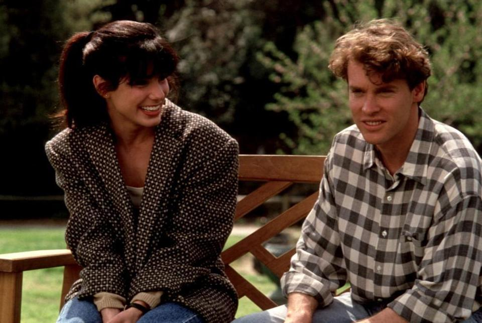 "<p>Bullock's first appearance in a major film was in this 1992 teen romance also starring Tate Donovan and Anne Bancroft. The concept of nerds falling in love is nothing new, thus the reason for our lower ranking. However, it's not the bottom of the lot because of how effortlessly Bullock transitioned from a shy, geeky animal psychologist to a sexy femme fatale.</p><p><a class=""link rapid-noclick-resp"" href=""https://www.amazon.com/Love-Potion-No-Tate-Donovan/dp/B00LLQK3SG/?tag=syn-yahoo-20&ascsubtag=%5Bartid%7C10063.g.36311669%5Bsrc%7Cyahoo-us"" rel=""nofollow noopener"" target=""_blank"" data-ylk=""slk:WATCH NOW"">WATCH NOW</a></p>"