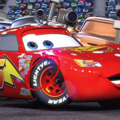 """<p>In <em>Cars</em>, Lightning McQueen races on Lightyear tires — a clear reference to Buzz Lightyear. <a href=""""https://pixar.fandom.com/wiki/Dinoco"""" rel=""""nofollow noopener"""" target=""""_blank"""" data-ylk=""""slk:Dinoco"""" class=""""link rapid-noclick-resp"""">Dinoco</a>, a gasoline company, is a racing sponsor in <em>Cars</em>, as well as the brand of gas station that the toys are stuck at in <em>Toy Story</em>.</p>"""