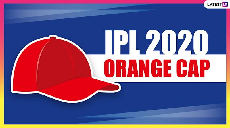 IPL 2020 Orange Cap Holder List Updated: Shikhar Dhawan Jumps to Second With Consecutive Centuries, KXIP's KL Rahul Remains on Top; Check Full Leaderboard of Leading Run-Scorers
