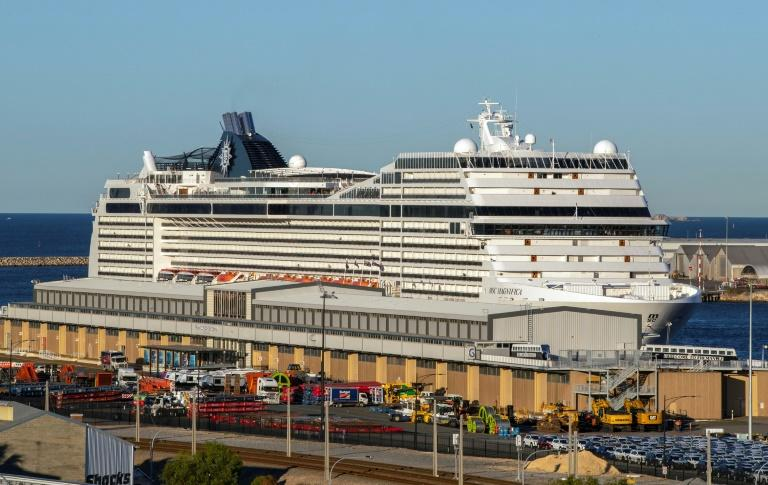 Virus-stricken cruise ship told to leave Australian waters