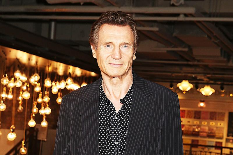 Liam Neeson opened up about how losing his wife brought back