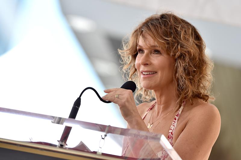 HOLLYWOOD, CALIFORNIA - JULY 24: Jennifer Grey attends the ceremony honoring Kenny Ortega with Star on the Hollywood Walk of Fame on July 24, 2019 in Hollywood, California. (Photo by Axelle/Bauer-Griffin/FilmMagic)