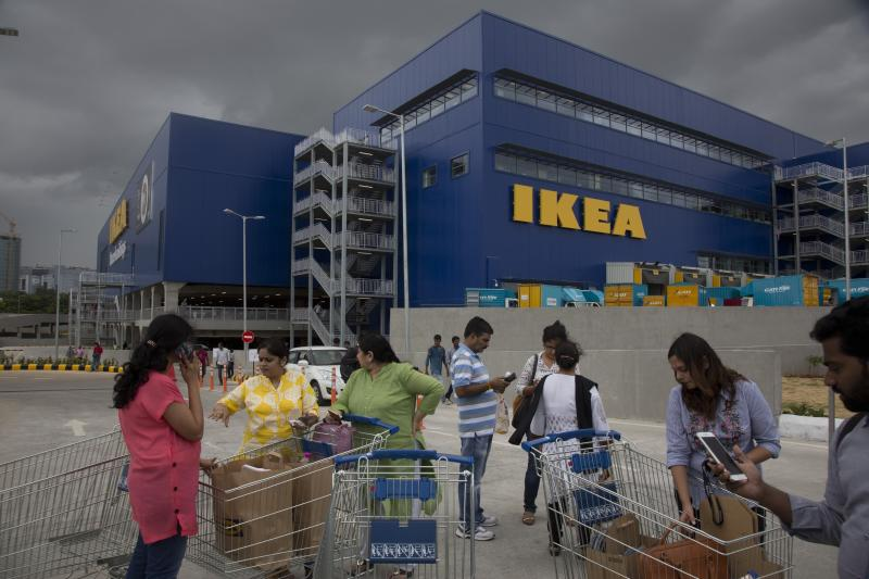 Swedish IKEA opens first single-brand retail store in India