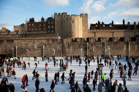 Skate beside the Tower of London - Credit: GETTY