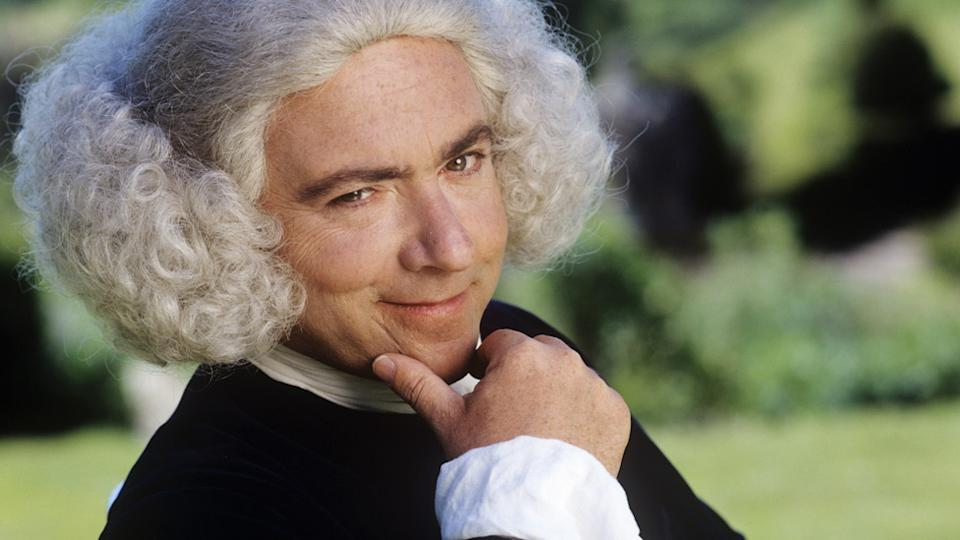 John Sessions as Henry Fielding in Tom Jones