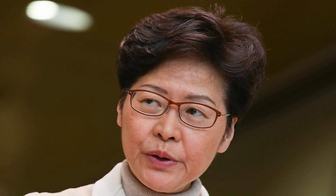 Chief Executive Carrie Lam says she will seriously reflect on people's criticism. Photo: May Tse