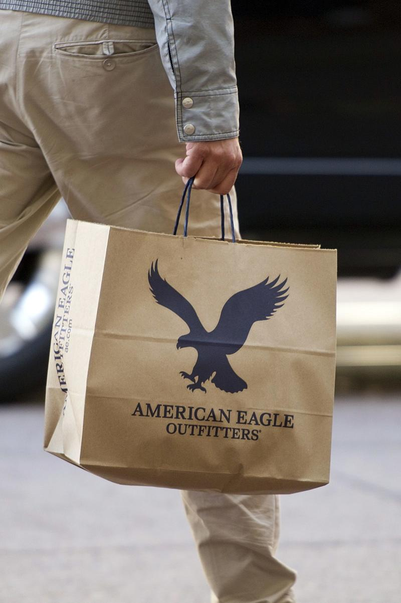 American Eagle same-store sales jump, sending the retail stock soaring
