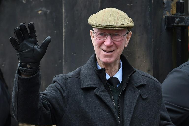 Jack Charlton rarely went anywhere without his trademark flat cap