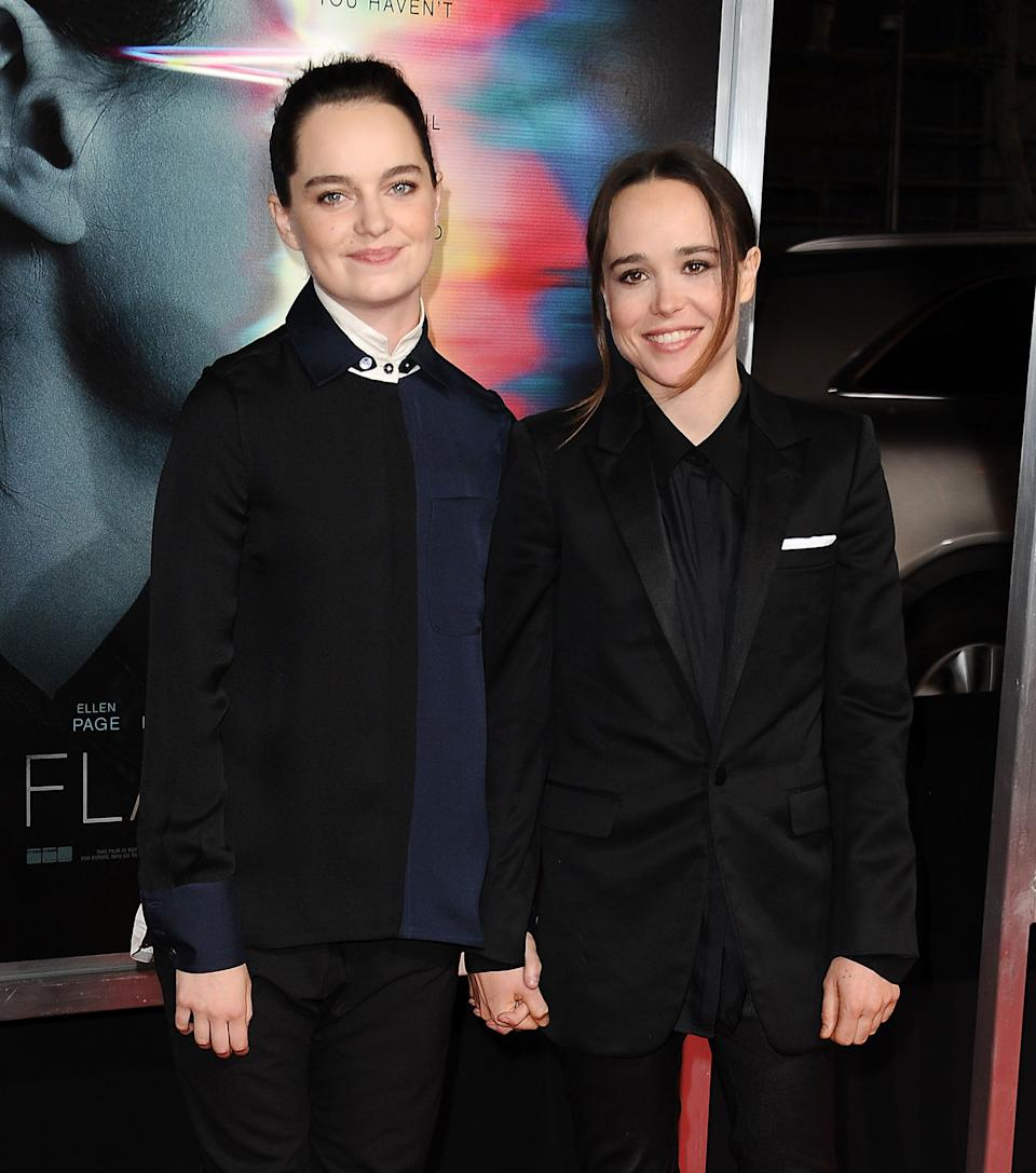 "Talk about a modern meet-cute story: <a href=""https://www.huffpost.com/entertainment/topic/ellen-page"" target=""_blank"" rel=""noopener noreferrer"">Ellen Page</a> was so struck by an Instagram video of her future wife, Canadian choreographer Emma Portner, dancing that she had to reach out.<br /><br><br><br />""I thought, damn, this girl is so talented and so cool,"" <a href=""https://www.nytimes.com/2018/02/12/t-magazine/entertainment/ellen-page-emma-portner-home.html"" target=""_blank"" rel=""noopener noreferrer"">Page told The New York Times</a> last year. ""I knew right away we were both creative spirits.""<br /><br><br><br />The couple announced they <a href=""https://people.com/movies/ellen-page-married-emma-portner/"" target=""_blank"" rel=""noopener noreferrer"">were married in January 2018</a>."
