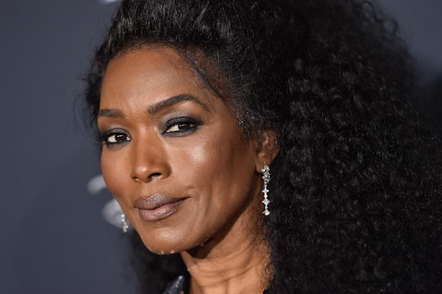 Angela Bassett's new swimwear shoot is turning heads. (Photo: Getty Images)