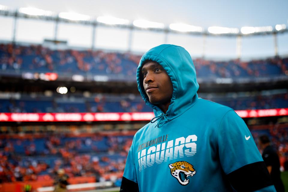 Cornerback Jalen Ramsey has requested a trade, but the Jaguars haven't moved him. (Getty Images)