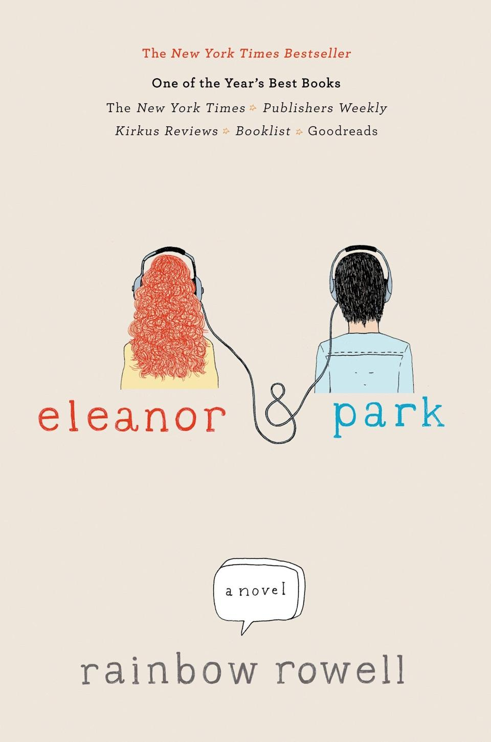 """""""Eleanor and Park"""" is Rainbow Rowell's debut novel."""