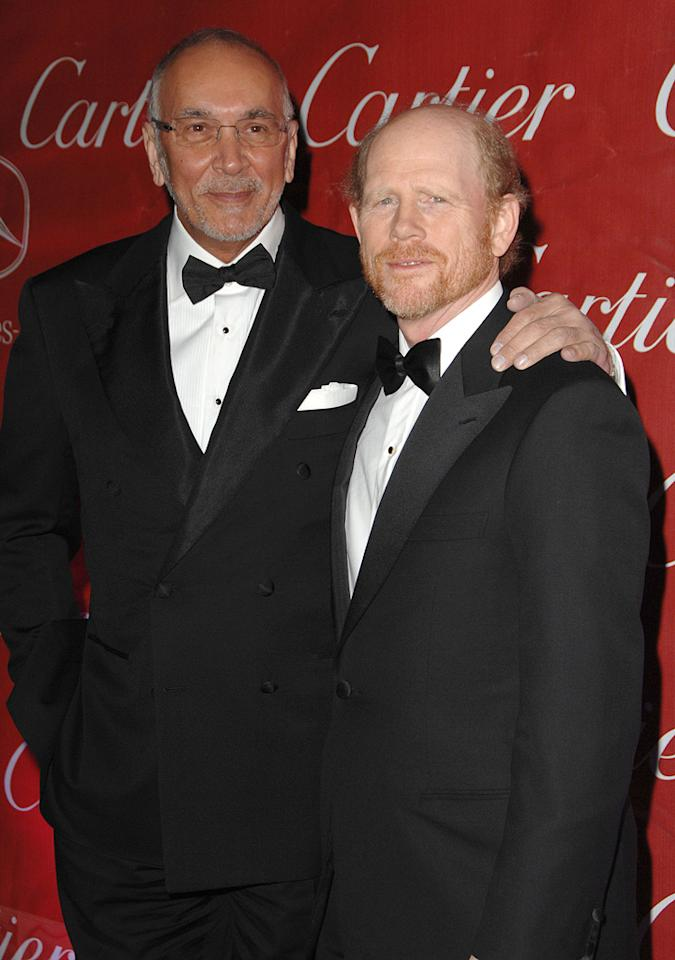 "<a href=""http://movies.yahoo.com/movie/contributor/1800017675"">Frank Langella</a> and director <a href=""http://movies.yahoo.com/movie/contributor/1800017103"">Ron Howard</a> at the 20th Annual Palm Springs Film Festival Gala - 01/06/2009"