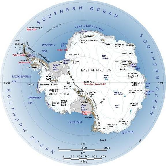 West Antarctic Ice Sheet's Age Gains 20 Million Years
