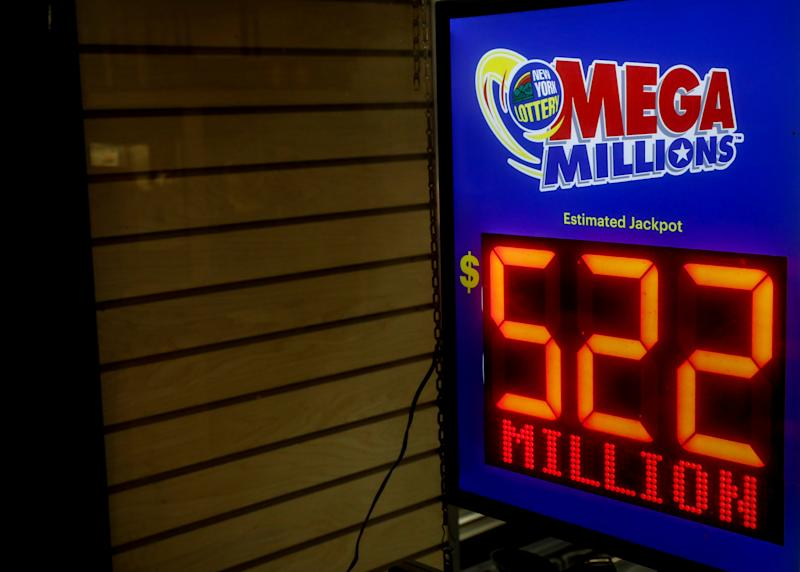 California ticket wins $522 million Mega Millions jackpot