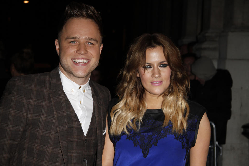 Olly Murs took part in a challenge to raise money for the Samaritans after Caroline Flack's sad death. (Photo by Simon James/FilmMagic)