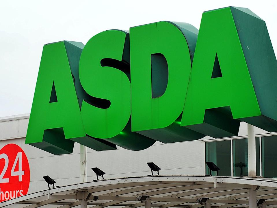Asda stores have seen slump in cash transactions during pandemic (PA)