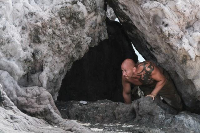 Tony Vlachos creeps around Mana beach on Survivor: Game Changers