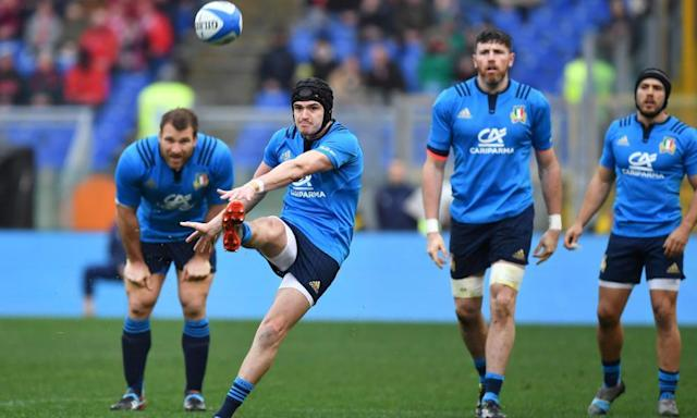 "<span class=""element-image__caption"">Italy continue to struggle in the Six Nations.</span> <span class=""element-image__credit"">Photograph: Alberto Pizzoli/AFP/Getty Images</span>"