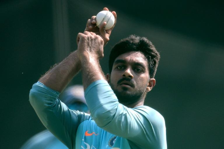 Mohammed Siraj, pictured here in 2018, will stay iwth the India side in spite of the death of his father on Friday