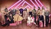 """<p><a href=""""https://www.goodhousekeeping.com/uk/lifestyle/a35965399/strictly-come-dancing-2021-line-up-date/"""" rel=""""nofollow noopener"""" target=""""_blank"""" data-ylk=""""slk:Strictly Come Dancing 2021"""" class=""""link rapid-noclick-resp"""">Strictly Come Dancing 2021</a> will be returning to our TV screens this weekend in all its sequin and spray tan glory, and entertaining our Saturday and Sunday evenings through Autumn until December. The <a href=""""https://www.goodhousekeeping.com/uk/lifestyle/a35965399/strictly-come-dancing-2021-line-up-date/"""" rel=""""nofollow noopener"""" target=""""_blank"""" data-ylk=""""slk:celebrities taking part"""" class=""""link rapid-noclick-resp"""">celebrities taking part</a> this year have been rehearsing ahead of the launch date on Saturday (18 September 18) - which means they've finally slipped into their sparkling ballroom outfits as they prepare to take on the dance-floor. </p><p>The stars competing for the coveted Glitterball Trophy this year include The Crown's Greg Wise, ex-Corrie star Katie McGlynn, broadcaster Dan Walker, TV presenter AJ Odudu, CBBC star Rhys Stephenson, social media influencer Tilly Ramsay, McFly's <a href=""""https://www.goodhousekeeping.com/uk/lifestyle/editors-choice-book-reviews/a37338083/tom-fletcher-interview/"""" rel=""""nofollow noopener"""" target=""""_blank"""" data-ylk=""""slk:Tom Fletcher"""" class=""""link rapid-noclick-resp"""">Tom Fletcher</a>, Loose Women's Judi Love, olympian Adam Peaty, EastEnders star Rose Ayling-Ellis, actor Robert Webb, <a href=""""https://www.goodhousekeeping.com/uk/news/a37232987/the-great-british-bake-off-2021-start-date/"""" rel=""""nofollow noopener"""" target=""""_blank"""" data-ylk=""""slk:Bake Off"""" class=""""link rapid-noclick-resp"""">Bake Off</a> star John Waite, actress Nina Wadia, rugby player Ugo Monye, and Dragons' Den star Sara Davies. </p><p>Judges returning to the panel are Motsi Mabuse, Shirley Ballas and Craig Revel-Horwood, with Anton Du Beke stepping in for Bruno Tonioli. </p><p>Let's take a look at this year's line-up in their <a href=""""https://ww"""