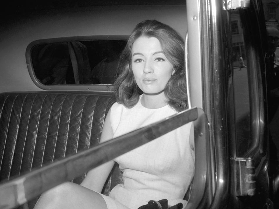 <p>Christine Keeler in 1963. 'She felt she had been wronged, but she just didn't want to go to court anymore. So she pleaded guilty'</p> (PA)