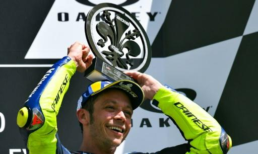 Rossi collected his third podium finish of the season in Italy