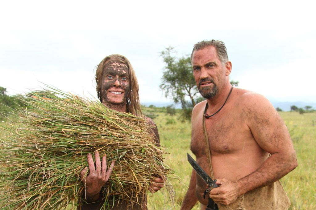 "Kellie Nightlinger and EJ Snyder on Discovery Channel's ""Naked & Afraid."""