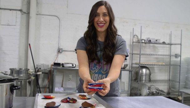PHOTO: Dana continues to come up with fun ways to spice up regular black and white cookies. (ABC News)