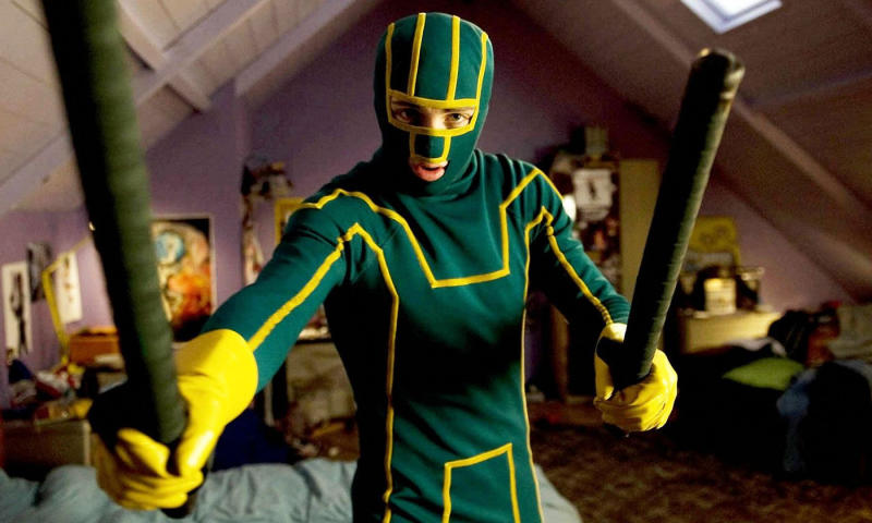 'Kick-Ass'. (Credit: Universal)