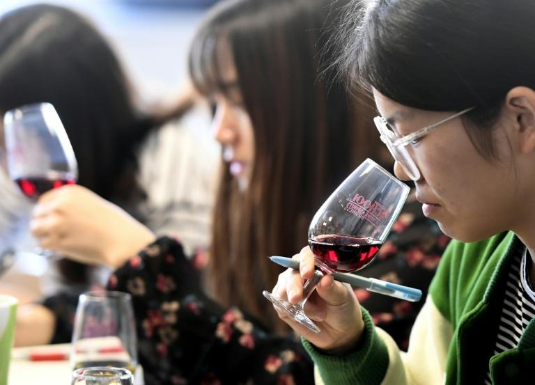 Nearly one-third of the Dijon wine school's 135 students are Chinese, willing to pay up to 13,000 euros ($14,000) for the coveted expertise