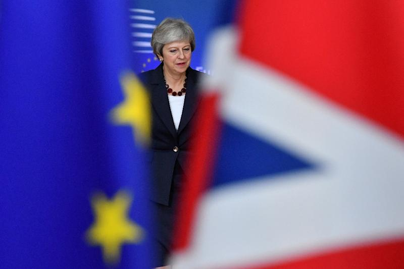 Britain's Prime Minister Theresa May aborted a vote on the deal set for Tuesday because of its certain defeat