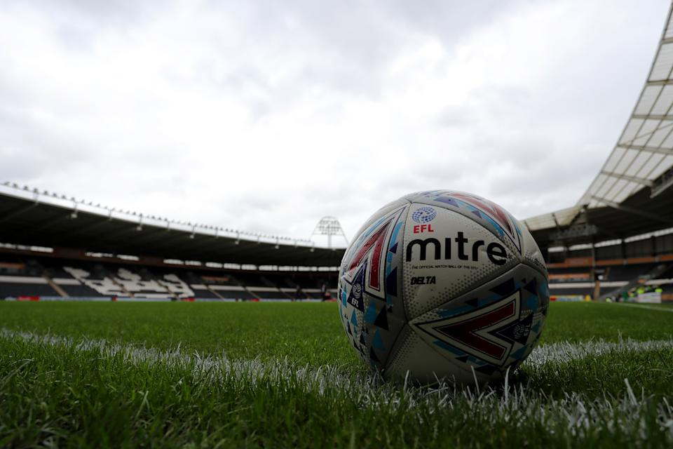 Comsec carried out 'spot checks' on fans to monitor the distribution of official data, on request from the EFL. (Credit: Getty Images)