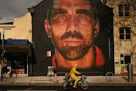 Adam Goodes, one of Australia's most high-profile indigenous sportsmen, was often targeted by racist abuse
