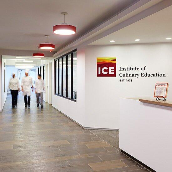 <p>ICE first opened in 1975, focusing on career training programs in Culinary Arts, Pastry & Baking Arts, Culinary Management and Hospitality Management, as well as one of the world's largest recreational cooking, baking and wine programs.</p>
