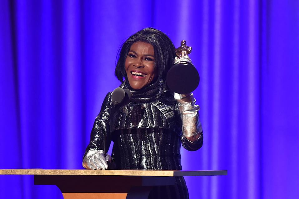 Cicely Tyson accepts an honorary Oscar at the 10th annual Governors Awards gala.