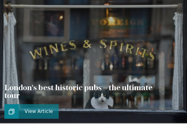 The best historical pubs in central London – and beyond