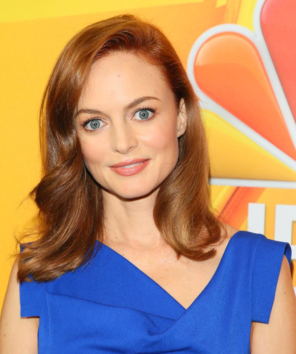 Heather Graham at the 2017 Summer TCAs. (Photo: JB Lacroix/WireImage)