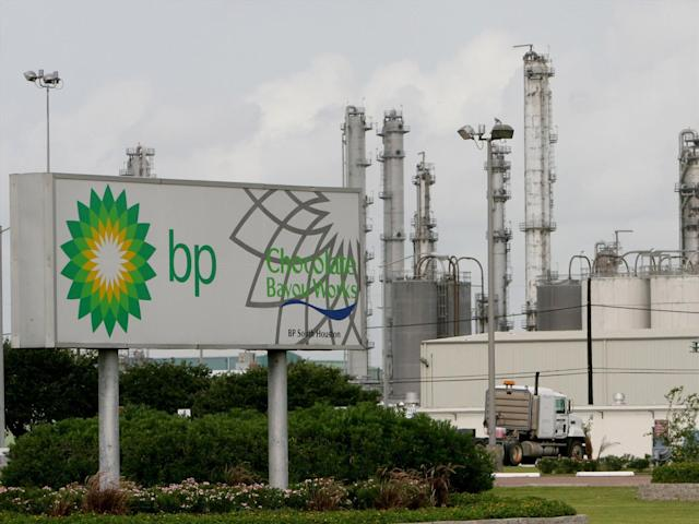BP is to sell part of its business that makes chemicals as a byproduct of oil refining. Photo: AP