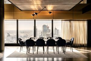 A stunning dining room at Australia 108