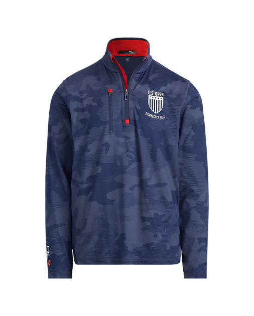 "<p>Since Father's Day always falls on the Sunday of the U.S. Open, help dad get into the spirit of the season's second major with this on-trend pullover. The subtle camo pattern, highlighted by a bold red inner color makes this lightweight jersey layer perfect for the summer.</p> <p><strong><a href=""https://www.ralphlauren.com/brands-golf-men-tournament-looks-cg/u.s.-open-tech-jersey-pullover/432769.html?cgid=brands-golf-men-tournament-looks-cg&dwvar432769_colorname=Navy%20Camo&webcat=cg/holding%20men/Shop%20All%20Men%E2%80%99s%20Golf"" rel=""nofollow noopener"" target=""_blank"" data-ylk=""slk:ralphlauren.com"" class=""link rapid-noclick-resp"">ralphlauren.com</a></strong>/$165</p>"