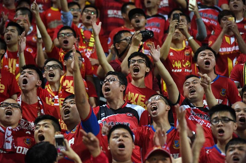 Guangzhou Evergrande charged for fans' anti-Hong Kong banner