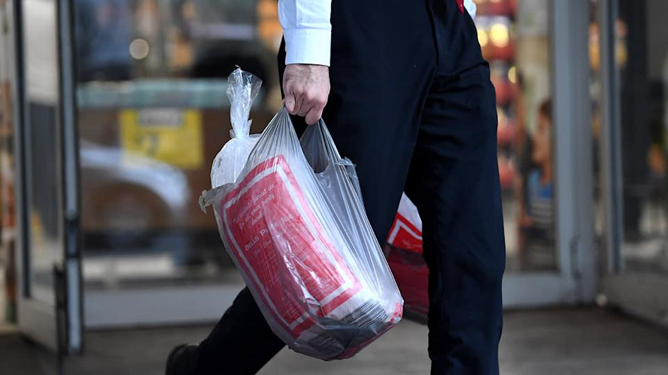Labor plans to completely ban single-use plastic bags and microbeads. Source: AAP