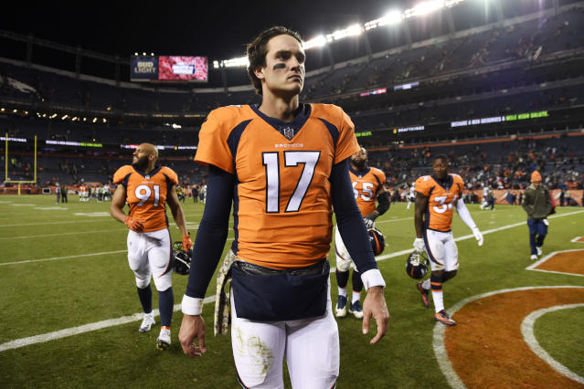 Brock Osweiler is leaving the NFL after seven journeyman seasons and one Super Bowl run. (Joe Amon/Getty Images)