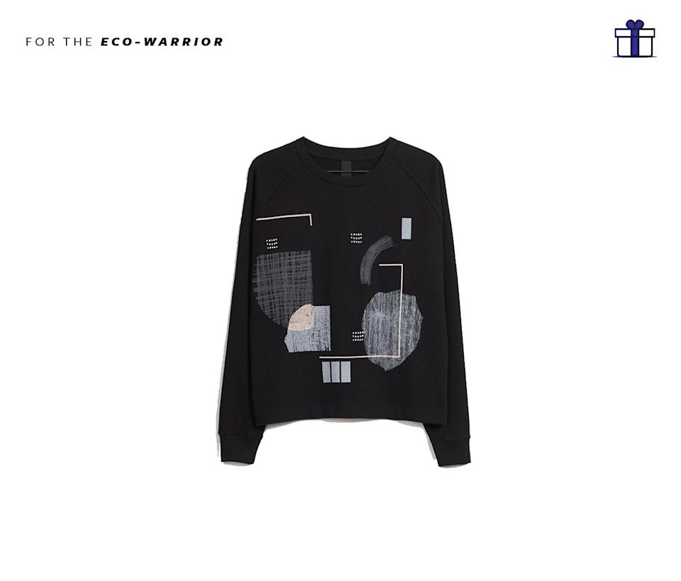 """<p>Not only are the separates at Kow and Tow are super comfortable, the brand also utilizes organic textiles and practice fair trade. Know Tow Case Study Crew Sweater, $169,<a href=""""https://www.kowtowclothing.com/collections/new-arrivals/products/case-study-crew?colour=black"""" rel=""""nofollow noopener"""" target=""""_blank"""" data-ylk=""""slk:kowtowclothing.com"""" class=""""link rapid-noclick-resp""""> kowtowclothing.com</a> </p>"""