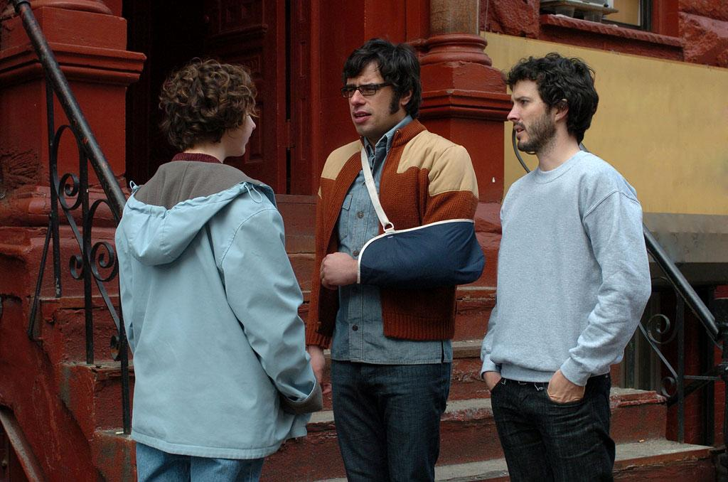 A scene from Flight of the Conchords.