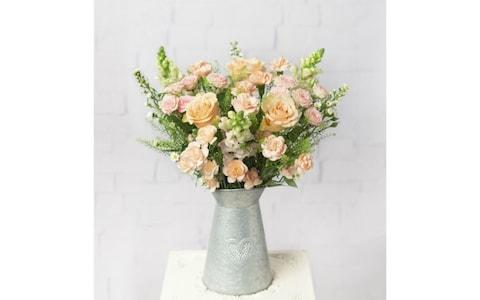 Bunches flower delivery Secret Garden bouquet of roses